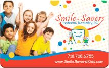 Smile Savers Pediatric Dentistry Rewards Card